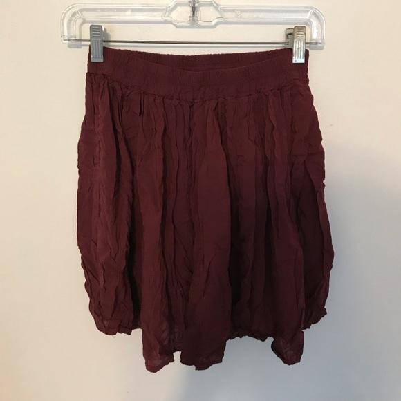 Brandy Melville Dresses & Skirts - Maroon brandy Melville skirt